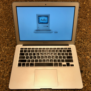 "The 13"" MacBook Air I use for work."